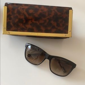 Tory Burch black sunglasses
